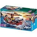 PLAYMOBIL 5137 - Piraten-Ruderboot mit Hammerhai
