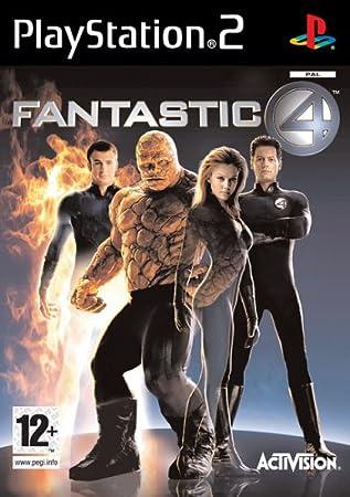 Activision Fantastic 4, PS2 - Juego (PS2, PlayStation 2)
