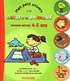 Nature et Animaux Moyenne Section 4-5 ans