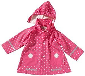 Playshoes - Chubasquero con capucha para niña