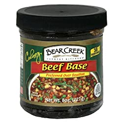 Bear Creek Country Kitchens Beef Soup Base, 8-Ounce Jars (Pack of 6)