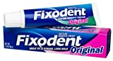 Fixodent Denture Adhesive Cream, Original 2.4-Ounce Tubes (Pack Of 2)