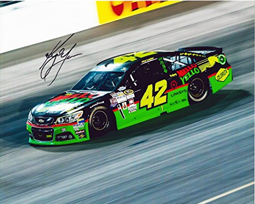 autographed-2015-kyle-larson-42-mello-yello-racing-team-darlington-throwback-weekend-8x10-signed-pic