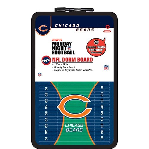 Chicago Bears Dorm Room Board