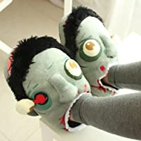 DizHome Zombie Floor Shoes Indoor Skid Slippers Halloween Toys by DizHome
