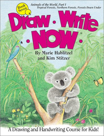 Draw Write Now, Book 7: Animals of the World, Forest Animals (Draw Write Now, 7) (Draw Write Now 2 compare prices)
