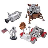 Nasa Space Adventure Child Plastic Toy Model Kit - Lunar Rover by New Ray