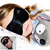 EARLY BLACK FRIDAY SPECIAL !!! Black Satin Sleep Mask by Sleep More Eye Masks with the Best Ear Plugs will have YOU and YOUR KIDS Sleeping like a Beauty NIGHT & DAY..