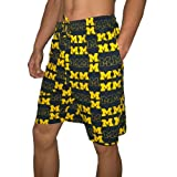 NCAA Michigan Wolverines Mens Sleepwear / Pajama Shorts Small Deep Blue & Yellow at Amazon.com