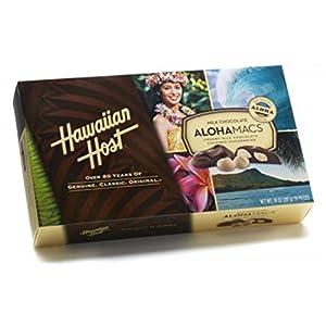 Hawaiian Host The Original chocolate Covered MACADAMIA NUTS BOX 14 OZ (397 g)