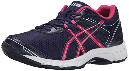 ASICS Women's Gel Quickwalk 2 Walking Shoe, Navy/Navy/Raspberry, 8.5 M US