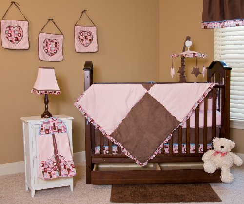 Nursery To Go Chocolate Delight 10 Piece Crib Set