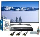 Samsung UN55D8000 55-Inch 1080p 240Hz 3D LED HDTV (Silver) 3D Bundle with U ....