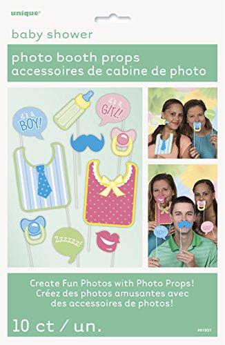 Baby Shower Accesorios Para Cabina De Fotos, Pack de 10