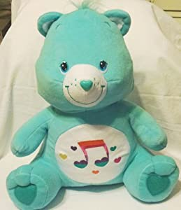 care bears heartsong bear teal seated 15 plush 2006 by
