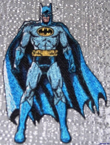 DC Comics BATMAN Standing Pose Embroidered PATCH by Main Street 24/7