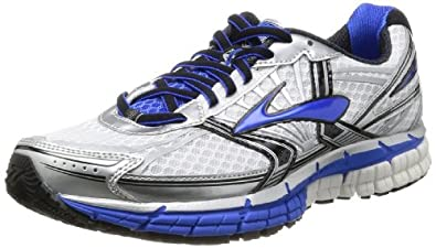 Brooks Men's Adrenaline GTS 14 Running Shoes 1101581D177 White/Electric/Silver 6 UK, 40 EU, 7 US