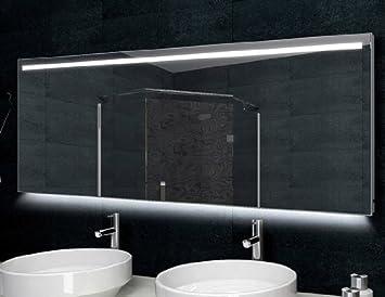 badspiegel mit led beleuchtung 160x60cm aluminiumrahmen k che haushalt wtjcuvb. Black Bedroom Furniture Sets. Home Design Ideas