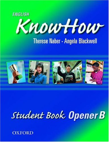 English KnowHow Opener: Student Book B