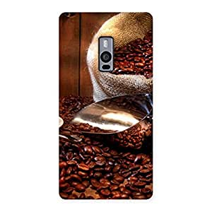 Enticing Coffee Beans Brown Back Case Cover for OnePlus Two