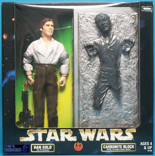 Star Wars Han Solo with Carbonite Block Action Figure