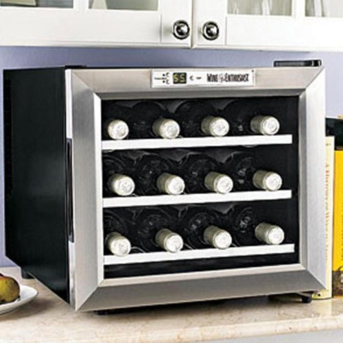 12-Bottle Silent Wine Refrigerator by Wine Enthusiast