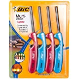 BIC Multi Purpose Lighter - One Value Pack of 4 Lighters