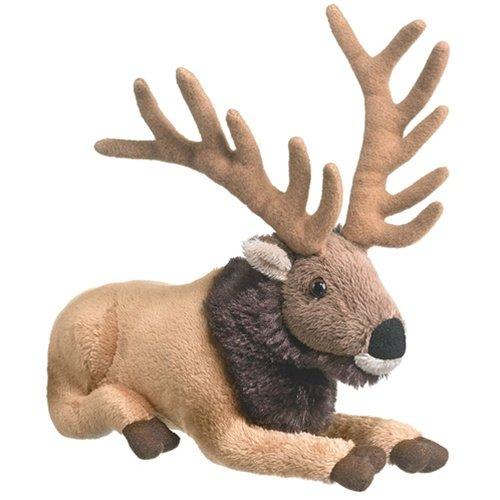 "8"" Elk Plush Stuffed Animal Toy"