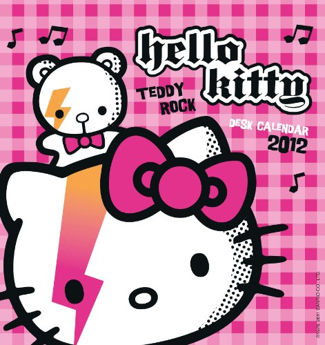 Official Hello Kitty Desk Tent Calendar 2012