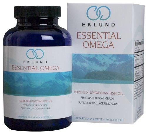 Eklund essential omega norwegian fish oil 90 capsules for Fish oil triglyceride form