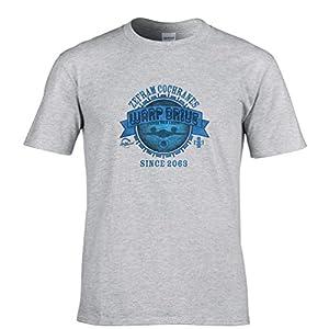 Zefram Cochranes Warp Drive Tshirt Mens Small - 5XLarge