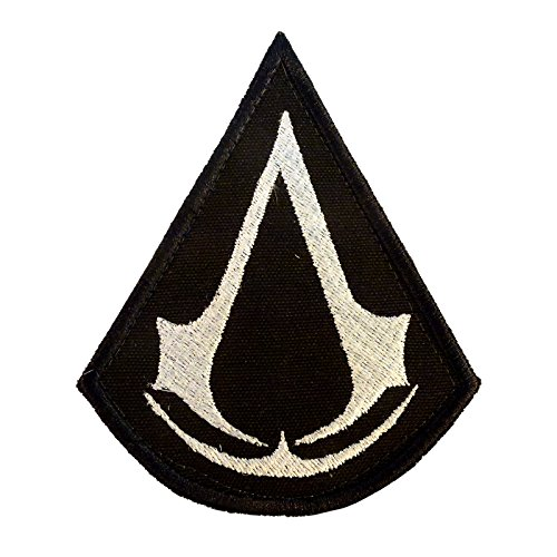Assassin's Creed Tactical PS PS3 Tactical Morale Embroidered Velcro Toppa Patch
