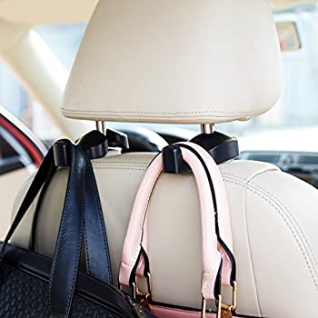 2-Pk. ChiTronic Car Seat Headrest Hanger Hooks