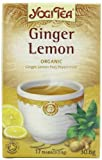 Yogi Tea Organic Ginger Lemon 17 Teabags (Pack of 6, Total 102 Teabags)