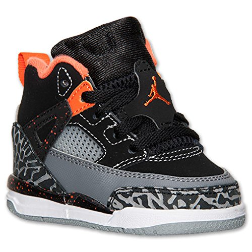 Nike Jordan Sprizike BT Infant Black/Cool Grey/Wolf Grey/Electro Orange 317701-080 (SIZE: 8C)