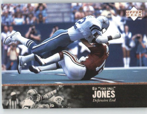 1997 Upper Deck Legends #123 Ed Too Tall Jones - Dallas Cowboys (Football Cards) at Amazon.com