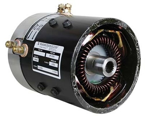 Amd Advanced Golf Cart Motor Es1-4002 (7122), E-Z-Go, Yamaha (Series) Speed