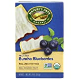 Nature's Path Organic Frosted Toaster Pastries, Buncha Blueberries, 6-Count Boxes (Pack of 12) ~ Nature's Path