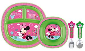 Minnie Toddler Dining Set from Munchkin