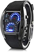 Reloj hombre Aviator Estilo Digital Matrix LED (colores surtidos) Version mejorada