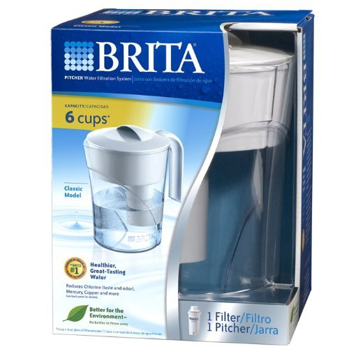 Brand New, Brita - Classic Water Filter Pitcher (Appliances - Small Appliances and Housewares) (Compact Brita compare prices)