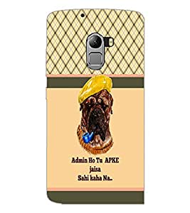 PrintDhaba Quote D-5815 Back Case Cover for LENOVO VIBE K4 NOTE (Multi-Coloured)
