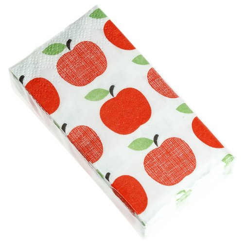 Pack Of 12 Red Apple Tissues