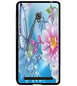 ColourCraft Flowers Design Back Case Cover for ASUS ZENFONE 6 A600CG