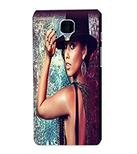 ONE PLUS 3 BEAUTIFUL GIRL Back Cover by PRINTSWAG