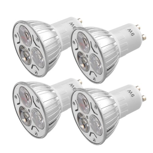 Prodeals ® 4 Pack Of 9W Gu10 Led Bulbs Warm White Recessed Lighting 50 Watt Incandescent Equivalent