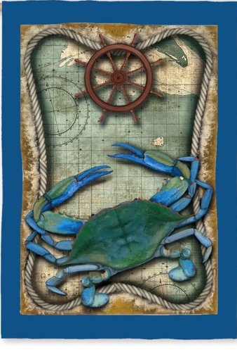 Blue Crab Flag (Regular Size)