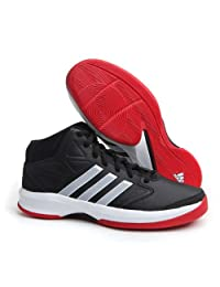 Adidas Isolation Black/White/Red Mens Basketball Shoes
