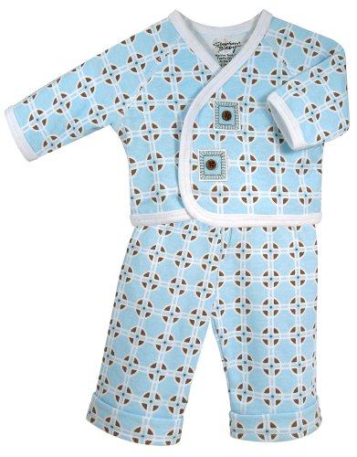 Stephan Baby Diaper Cover and Jacket Set, Neo-Geo Geometric Print