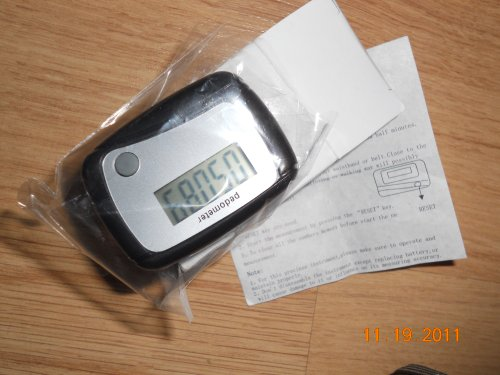 Image of Mini Pedometer Step Counter Microcomputer Technology With One Key (B0074DDQNY)